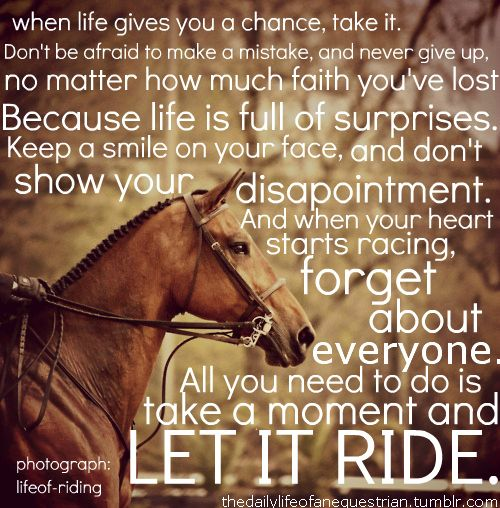 ♥ Let it Ride