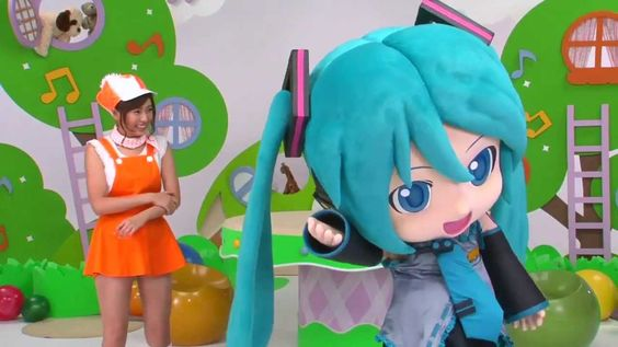 Hatsune Miku Project mirai 2 another promo video (Sega), 3DS >> these videos are so weird