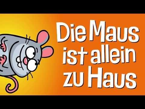Kinderlied Maus Die Maus Ist Allein Zu Haus Hurra Kinderlieder Youtube Kinder Lied Kinderlieder Lied