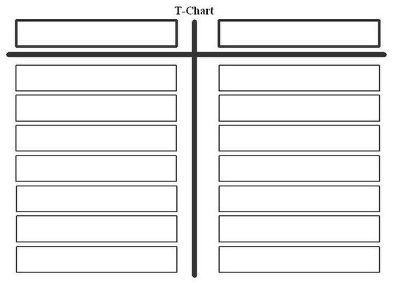 Doc16501275 Free Charts Templates Image for Blank Table Chart – Charts Templates