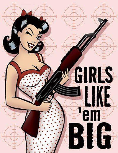 Girls like 'em big!