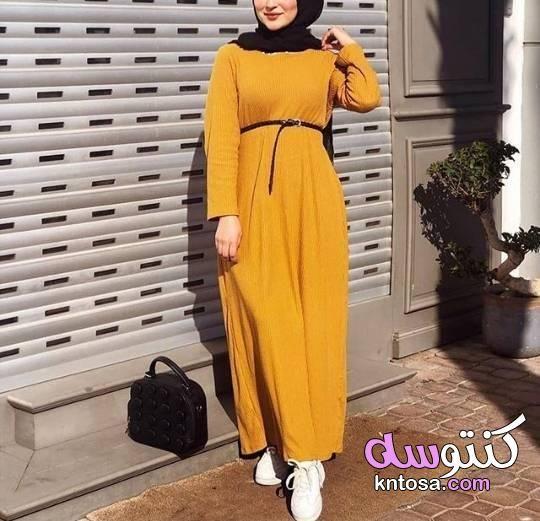فساتين واسعة للمحجبات ملابس محجبات كاجوال دريس محجبات لبس محجبات 2020 Maxi Dress Just Girl Things Fashion