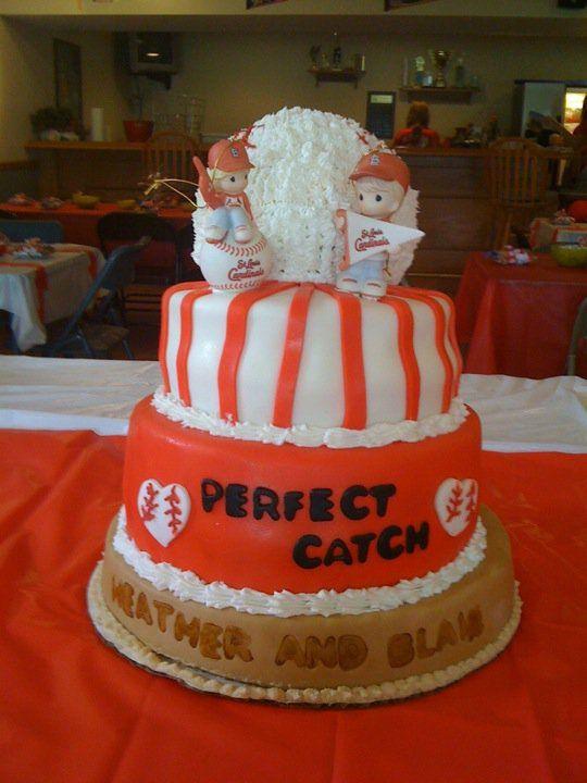 Heather's Bridal Shower Cake. Go Cards!