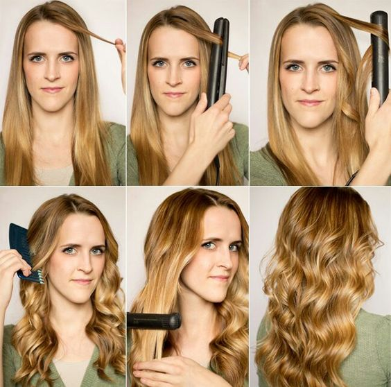 Ondulando cabelo