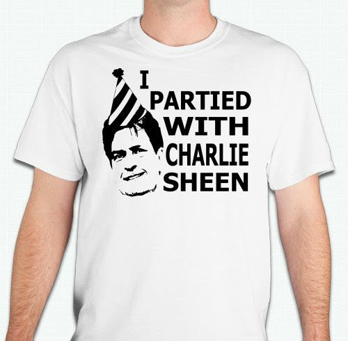 I Partied With Charlie Sheen