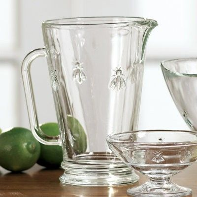 Pitcher and sherbets