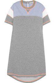 Richard NicollPaneled cotton-jersey sweatshirt dress