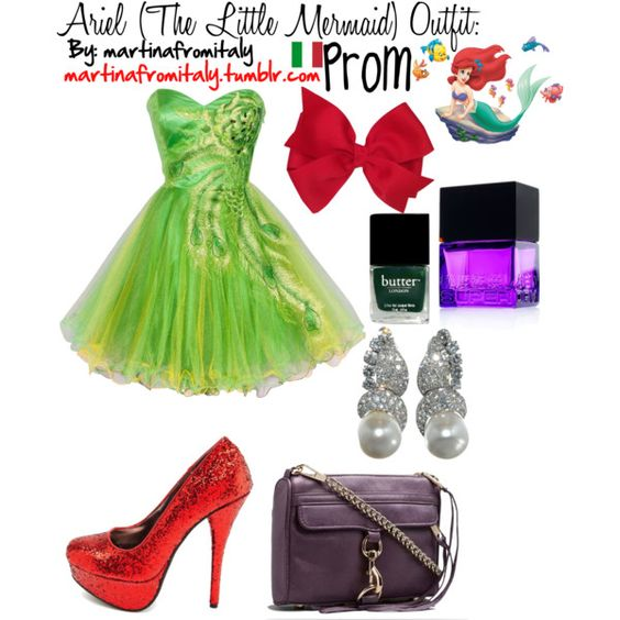 Ariel (The Little Mermaid) Prom Outfit: