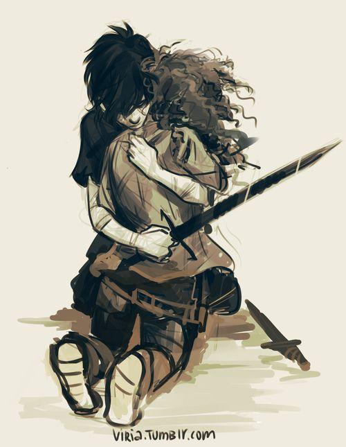 Nico and hazel by viria | The heroes of Olympus ...