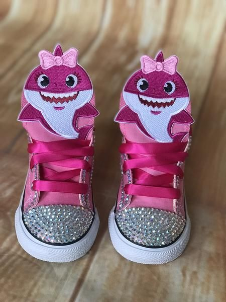 Baby Shark Pink Sneakers, Infants and