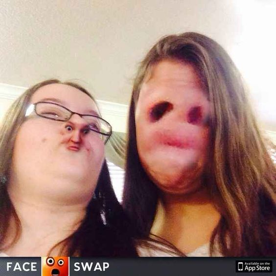 26 face swaps that will make you feel uncomfortable  Hahaha omg I could not stop laughing!!