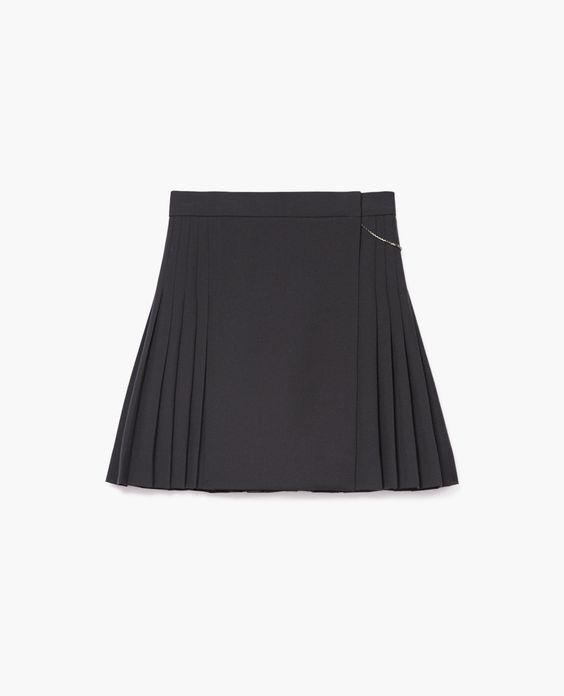 Kilt-style skirt - The Kooples