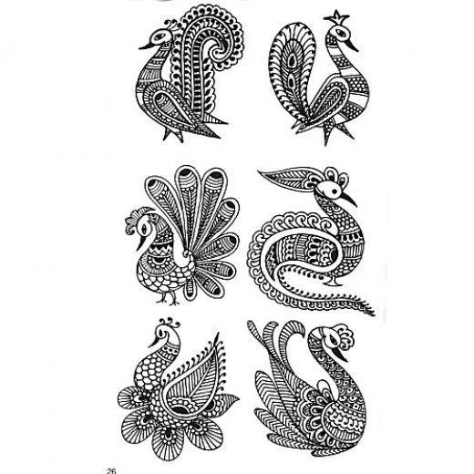 Mehndi Peacock Patterns : Peacock henna design mehndi masti pinterest