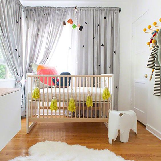 25 Creative and Beautiful Nursery Design Ideas via Brit + Co.