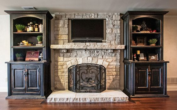 Mantels I Want And Tvs On Pinterest