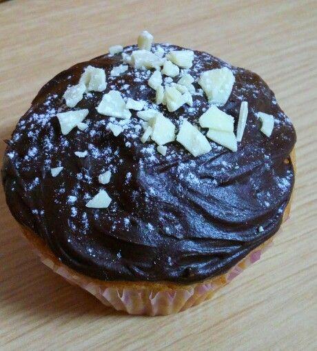 Muffins de almendras y chocolate