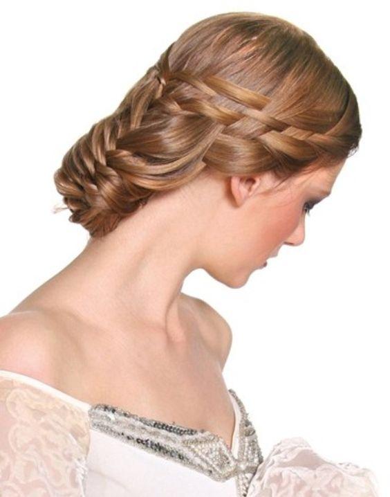 interwoven braids wedding do s braids plaits braided updos beautiful ...