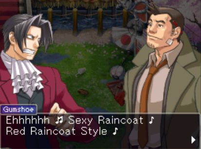 Edgeworth's face, though.