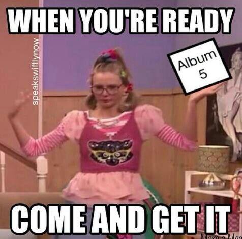 Na na na na :) I'm readyyyyyy