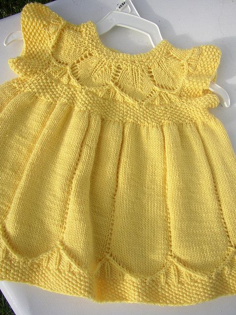 my second Clara dress Knitting Pinterest Dresses