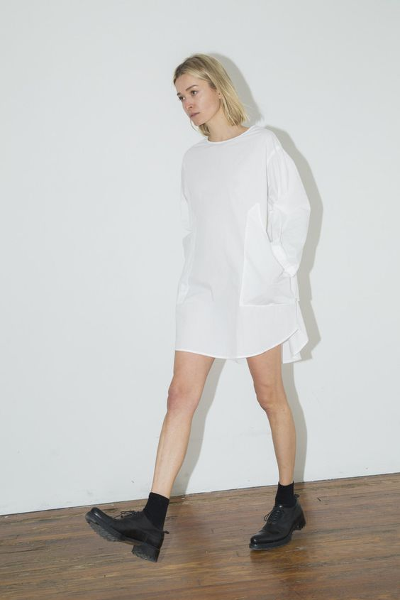 White Everything Dress