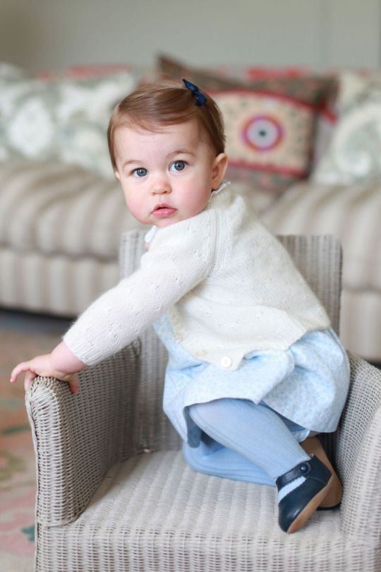 5-1-2016  Princess Charlotte's First Birthday: William and Kate Share Cute New Photos