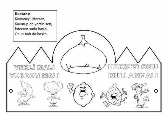 Makbule Ortatepe Yilmaz Adli Kullanicinin Boyama Panosundaki Pin Boyama Sayfalari Boyama Kitaplari Okul