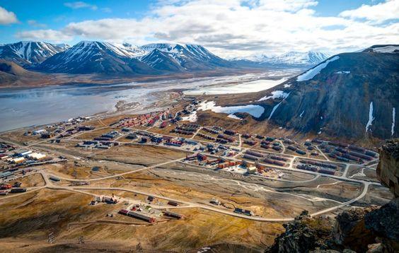Longyearbyen, Norvège