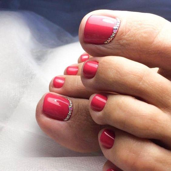 Педикюр на короткие ногти: 30 стильных идей – Novuyden.com