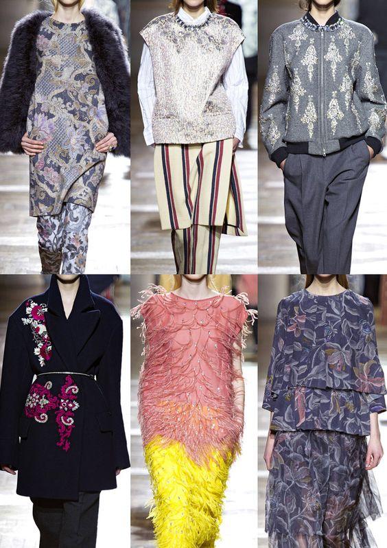 Paris Fashion Week   Autumn/Winter 2013/14   Print & Pattern Highlights   Part 1 catwalks