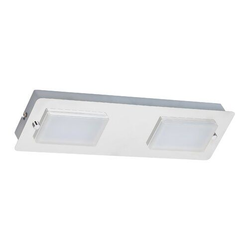 Brayden Studio Laleia 2 Light Led Semi Flush Mount In 2020 Led Ceiling Spotlights Led Lights Flush Ceiling Lights