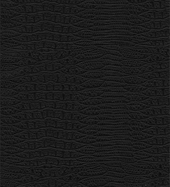 alligator skin black faux leather embossed wallpaper