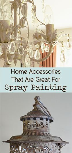 Home Decor Accessories That Are Great For Spray Painting ...