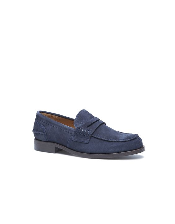 my recent purchase...Cortefiel Blue Suede Loafers...nuevo zapatos!! Fine crafted shoes made in Spain......