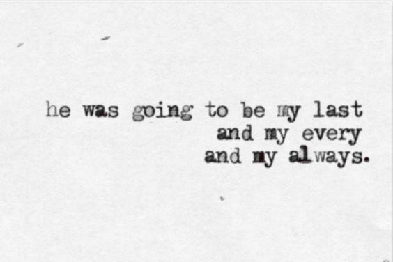 Last every always