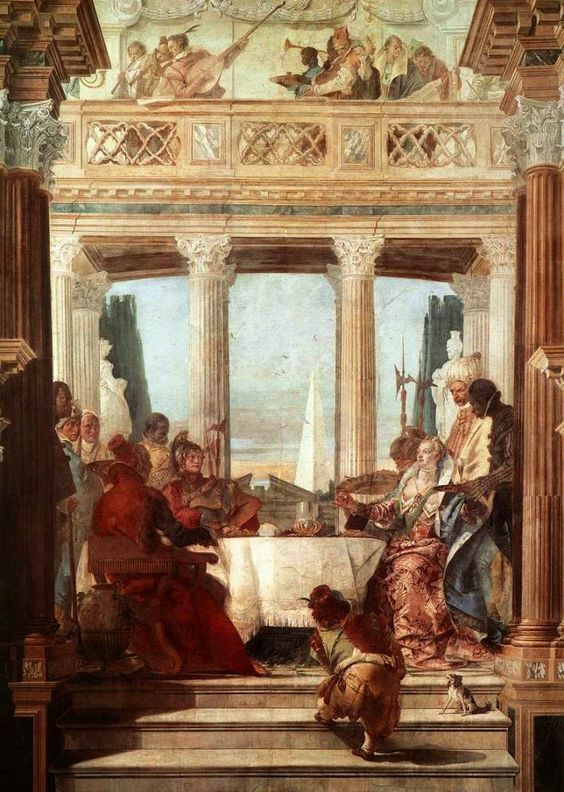 Image result for tiepolo cleopatra palazzo labia venice