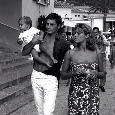 #weekend AD and fam, 1960s. #sttropez