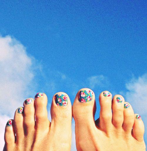 DIY Calico Toes