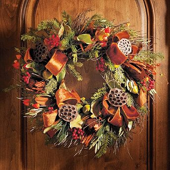 Frontgate Fall Wreath