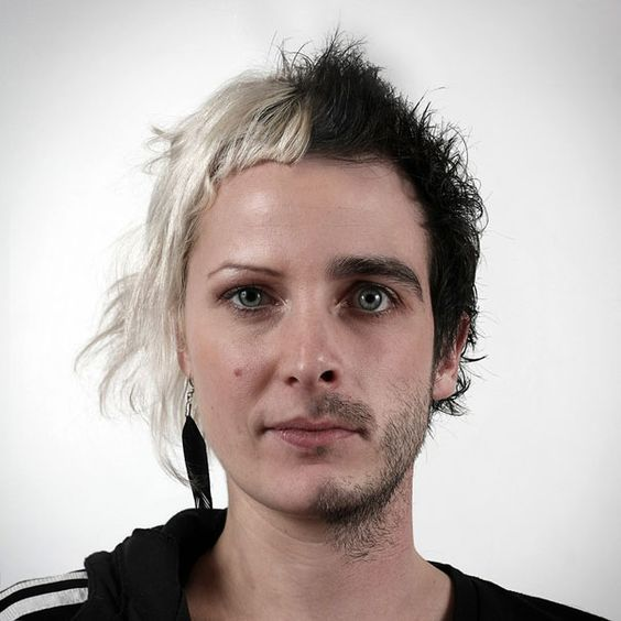 Portraits created by artist and photographer Ulric Collette. It shows how fascinating the genetic mixing of faces of siblings can be.