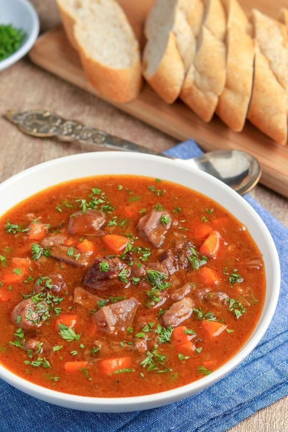 Homemade Oxtail Soup