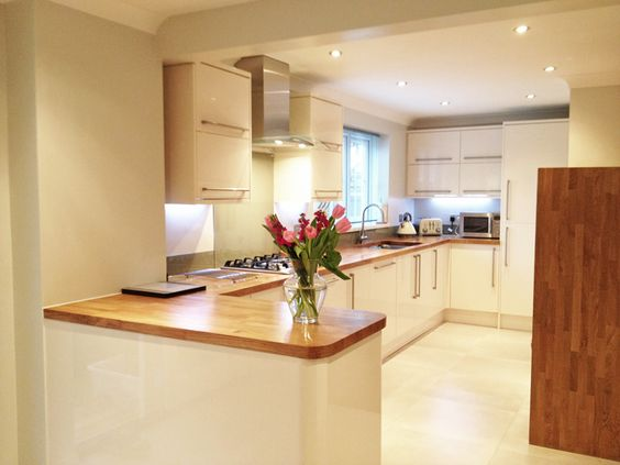 Oak Worktops Oak Kitchen Worktops And Cream On Pinterest
