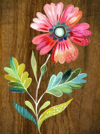 Belle Flower Canvas Art: