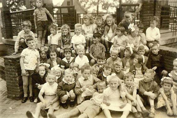 De kleuterschool in Den Dungen, 1956. (fotocollectie BHIC)