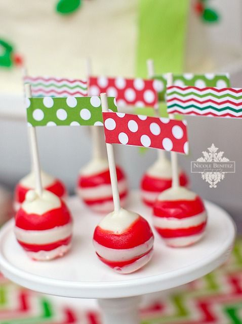 Christmas Wishes Cake Images : Cake pop, Holiday cakes and Pop on Pinterest