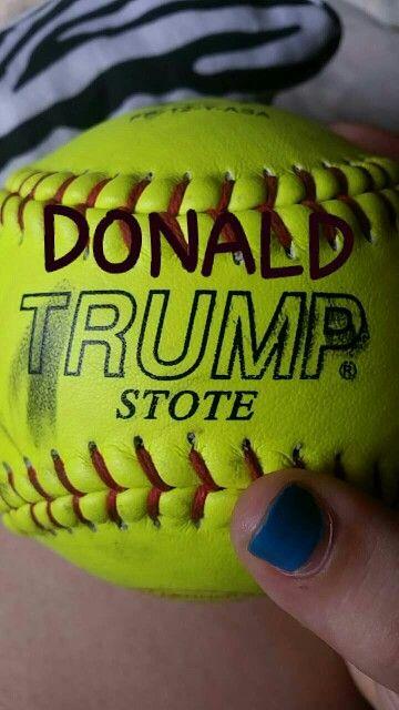 How ironic.. Donald's last name is on my home run ball #WinnerWinner