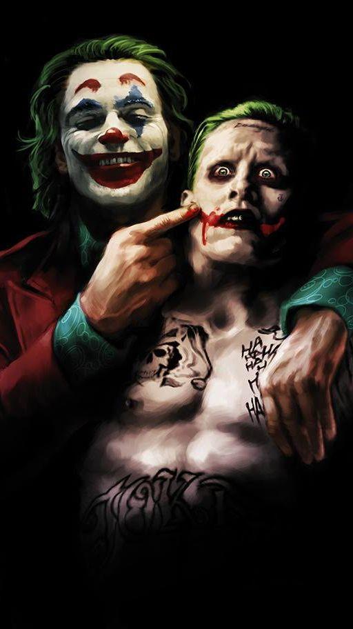 Joker Vs Joker Iphone Wallpaper Joker Iphone Wallpaper
