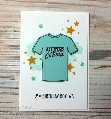 Spring/ Summe Catalog Countdown #26: Stampin' Up! ~ Custom Tee:
