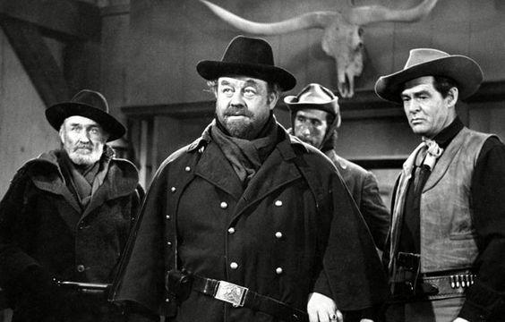 Quadrilha Maldita (1959) - Burl Ives e Robert Ryan