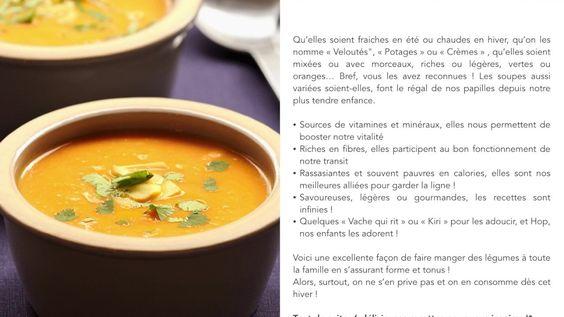 Manger de la soupe... C'est si bon !
